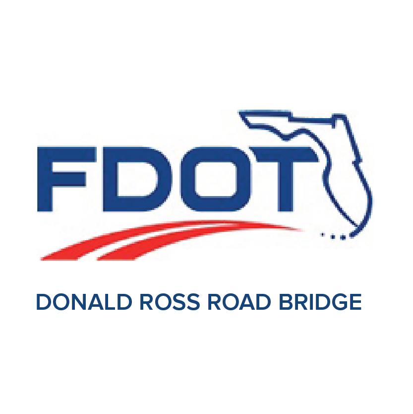 Donald Ross Bridge logo