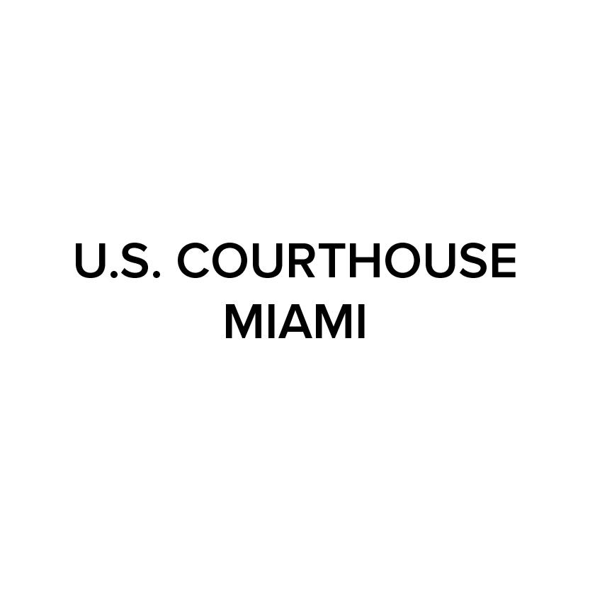 US Courthouse Miami logo